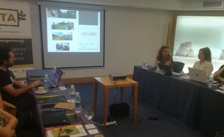 Los espacios test agrarios, presentes en las jornadas de Territorios Pastoreados