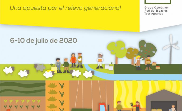 PRIMERAS JORNADAS SOBRE ESPACIOS TEST AGRARIOS. Una apuesta por el relevo generacional: caminando hacia la Red de Espacios Test Agrarios de España