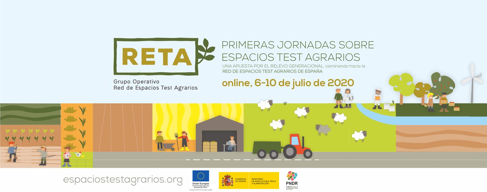 Jornadas espacios test agrarios